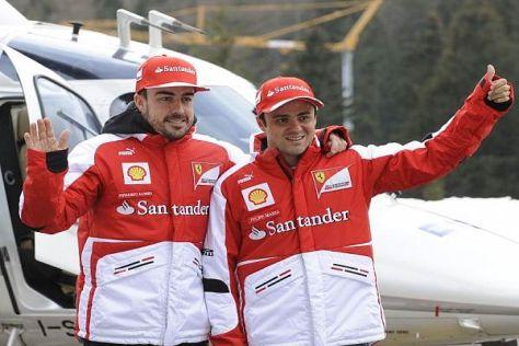 Fernando Alonso und Felipe Massa: Auch 2013 ein harmonisches Duo?