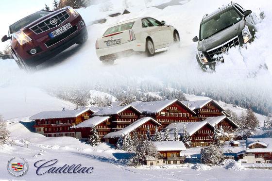 Cadillac Winter Drive Event