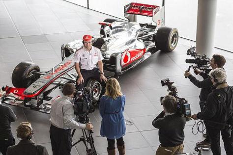 Sergio Perez sieht sich ab dieser Saison mit mehr Druck konfrontiert