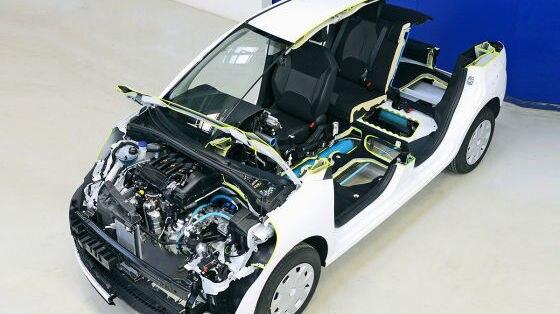 Hydraulischer Hybriantrieb von Bosch und PSA