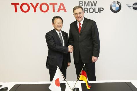 Kooperation BMW und Toyota