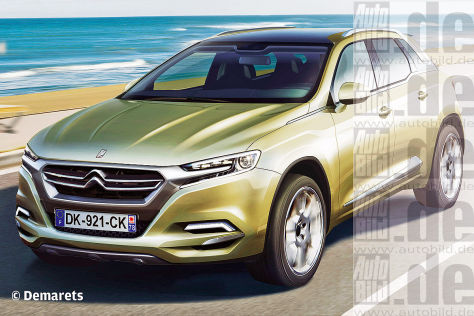 Citroën DSX Illustration