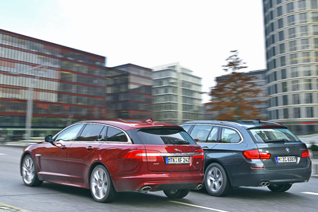 Video: Jaguar XF Sportbrake vs. BMW 530d Touring