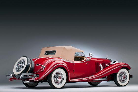 Mercedes 500 K von 1935: Prozess 2013