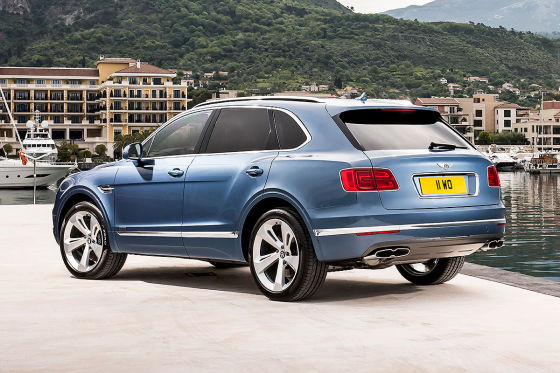 Bentley Bentayga Diesel !! Sperrfrist 21. September 2016 01:01 Uhr !!