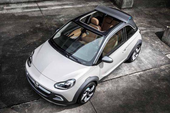 Opel Adam Rocks Concept Genf 2013 Autobild De