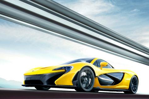916 hybrid-ps im supersportler mclaren p1: autosalon genf 2013