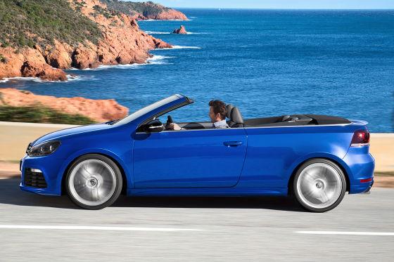 Golf R Cabrio: Fahrbericht