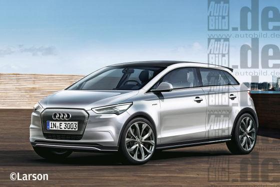 Audi A2 e-tron Illustration