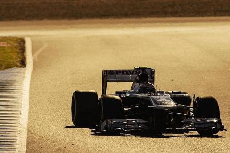 Pastor Maldonado saß zuletzt noch im FW34, doch die Premiere im FW35 steht an