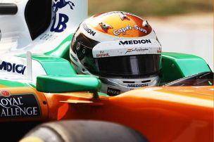 Sutil testet am Donnerstag f�r Force India