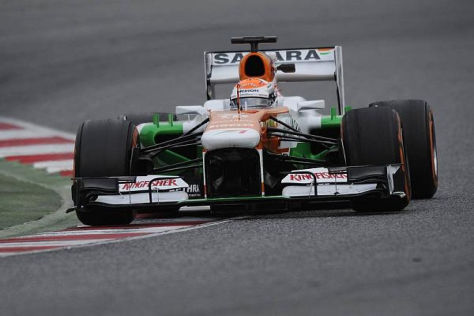 Adrian Sutil hofft, sich für ein Comeback in der Formel 1 empfohlen zu haben