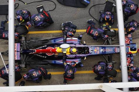 Red Bull plant noch zahlreiche Entwicklungsschritte am RB9