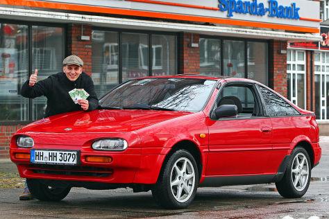 300 Euro Schnäppchen Nissan 100 Nx Im Gebrauchtwagen Test Autobildde