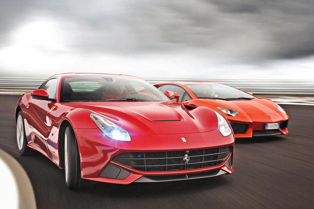 Video: Ferrari vs. Lamborghini