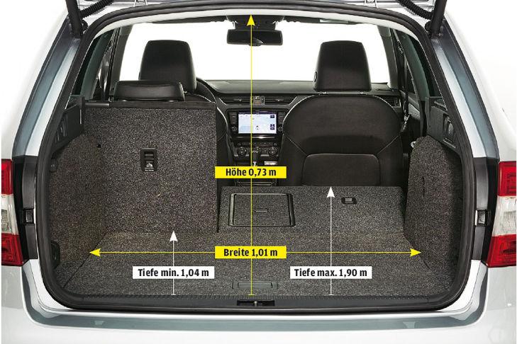Vergleich Skoda Octavia Combi Vs Limousine Bilder Autobildde