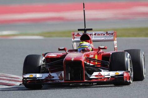 Felipe Massa kam mit Supersofts bis auf sieben Zehntel an die Hamilton-Zeit heran