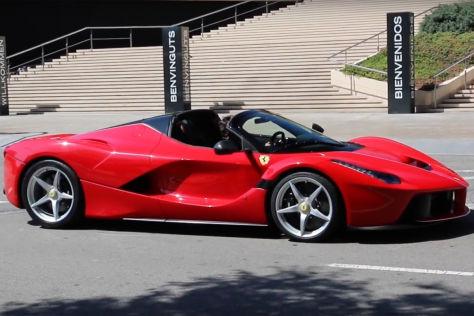 Ferrari Laferrari Aperta 2016 Vorstellung Autobild De