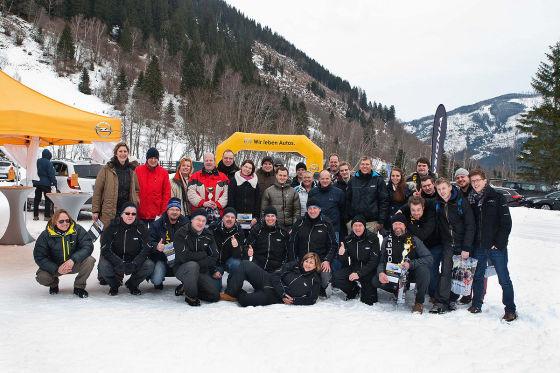 Das OPC-Winterfahrtraining brachte den Teilnehmern neben Spaß auch mehr Sicherheit auf Schnee und Eis