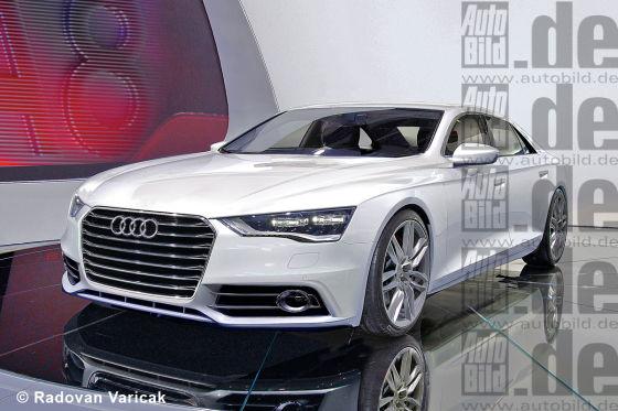Audi A8 Illustration