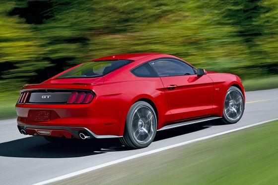 So kommt der neue Mustang!
