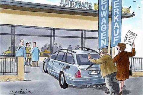 Neuwagenkauf: Urteil zum Spritverbrauch