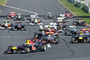 F1 startet