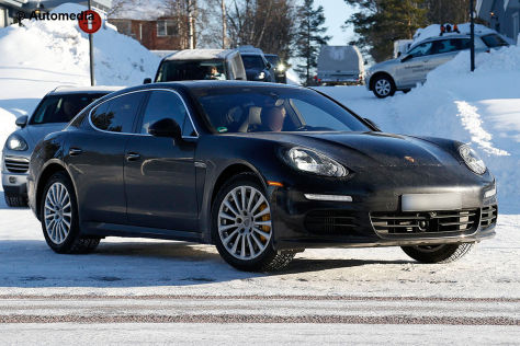 Porsche Panamera Facelift Erlkönig