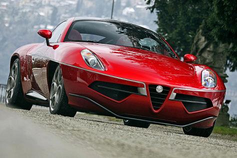 Alfa Romeo Disco Volante Unterwegs Im Einzelstuck Autobild De
