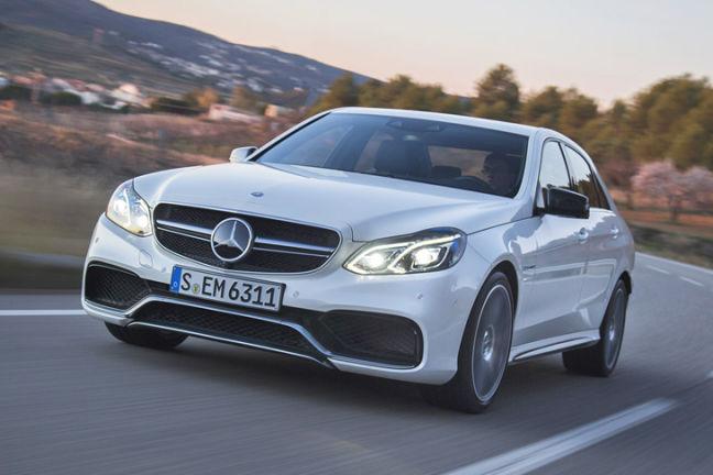 Video: Mercedes E 63 AMG
