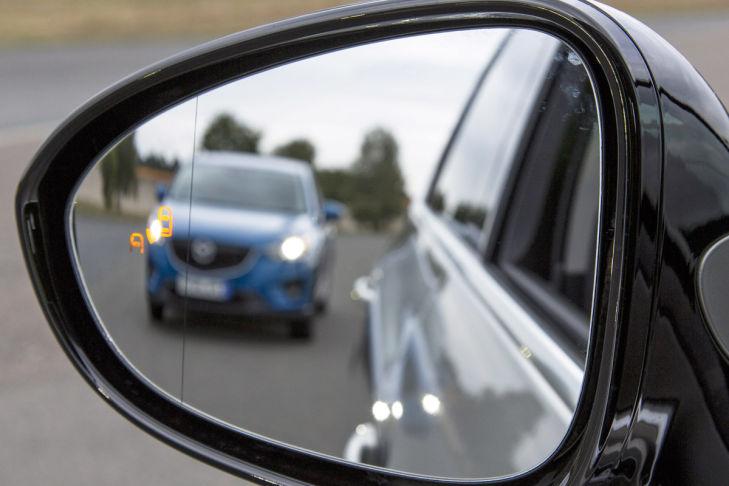 Opel Zafira Toter-Winkel-Warnung