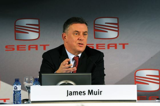 Seat-Chef James Muir