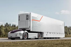 Autonomer Volvo-Truck
