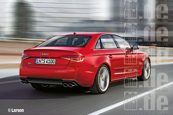 Audi A4/S4 Illustration