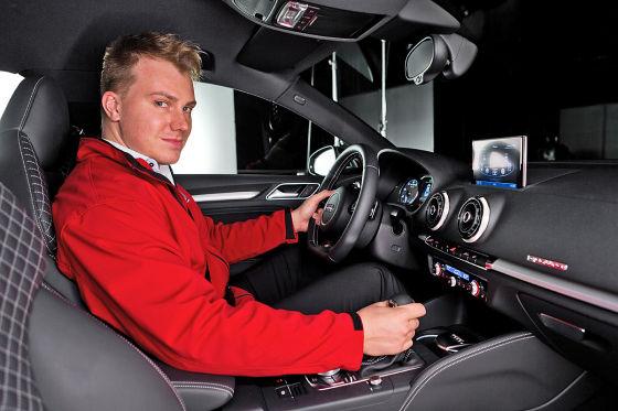 Audi gibt sich die Kante