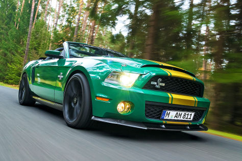 811 ps! ford mustang shelby gt 500 super snake im test - autobild.de