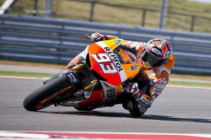 Austin: Marquez erneut der Schnellste