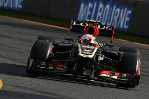 Grosjean bei allen Bedingungen Schnellster