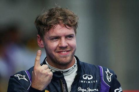 Sebastian Vettel hat im Qualifying diese Saison bisher eine weiße Weste