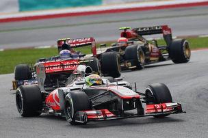 McLaren: Erste Punkte für Perez - Pech für Button