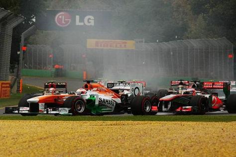 Paul di Resta - mitten in seinem Privatduell gegen das McLaren-Team