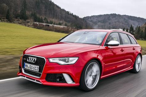 Audi Rs 6 Avant 2013 Fahrbericht Autobild De