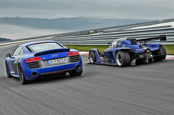 Audi R8 Praga R1