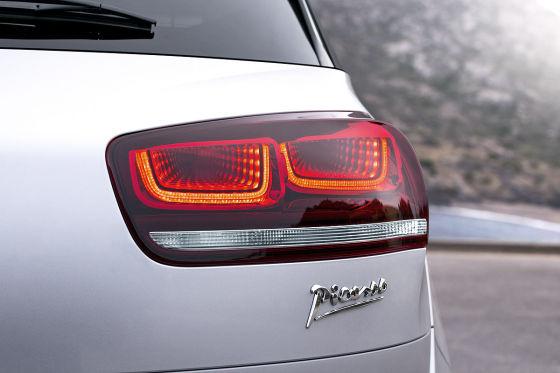 Citroën C4 Picasso silber Rückleuchte