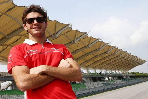Jules Bianchis Traum, ein Formel-1-Fahrer zu werden, ist endlich Realität