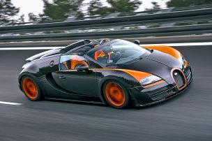 Rekord im Bugatti-Roadster