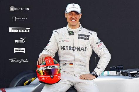 Michael Schumacher Präsentation AMG F1