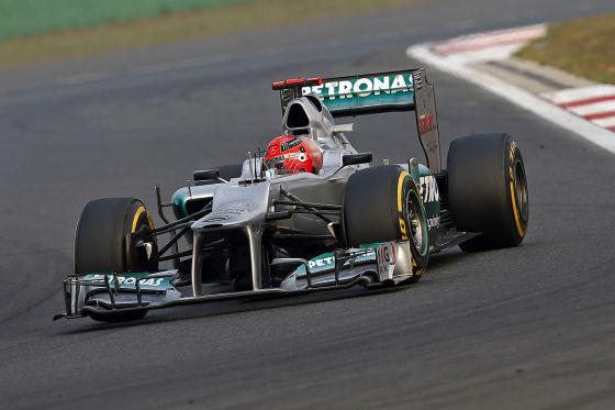 Michael Schumacher beim GP Korea 2012