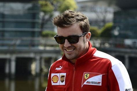 Fernando Alonso blickt trotz schlechter Samstagsbilanz optimistisch in die Zukunft