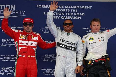 Lewis Hamilton startet in Schanghai von der Pole-Position